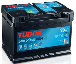 Bateria Tudor MicroHibrido AGM