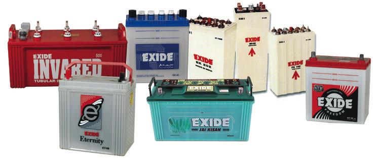 Baterias EXIDE