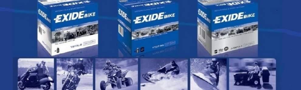 Baterias EXIDE motos