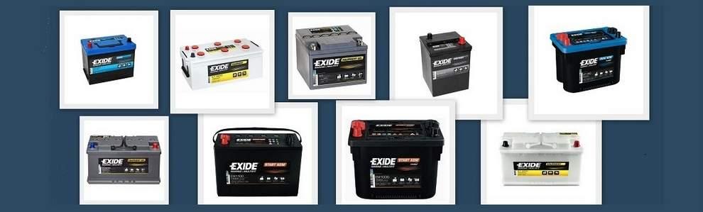 Baterias EXIDE Marine