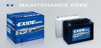 Bateria libre de mantenimiento EXIDE para motocicletas