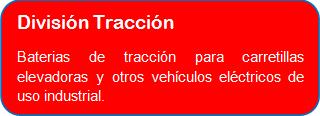 DIVISION BATERIAS DE TRACCION